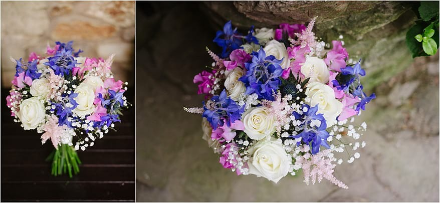 Wedding flowers by tracy Q at Budock Vean hotel in Falmouth
