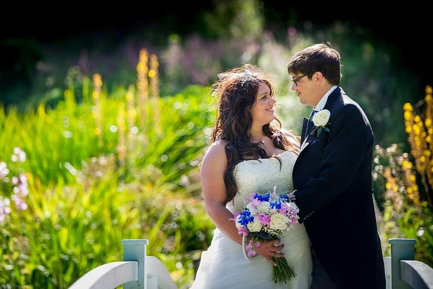 my latest wedding at Trebah Gardens