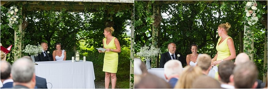 wedding speeches at Trevenna barns wdding in Cornwall