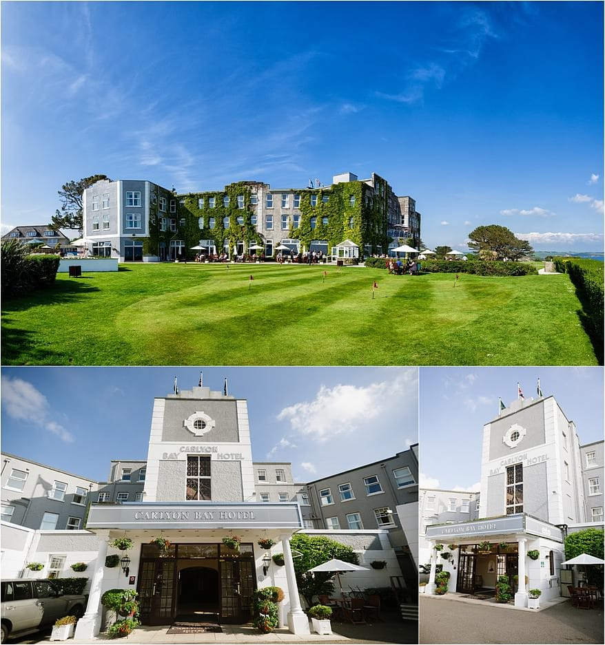 Carlyon Bay Hotel wedding venue is always a favourite to photograph