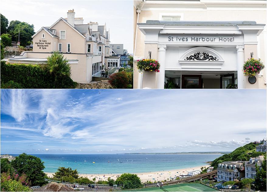 St Ives Harbour Hotel Wedding Venue