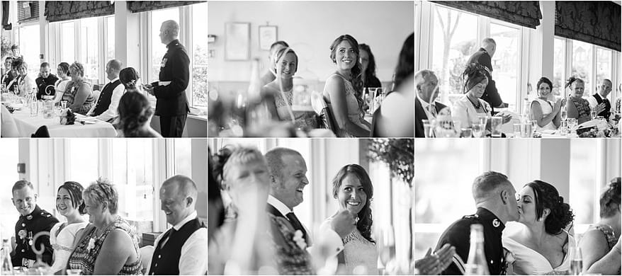 wedding speeches at the St Ives Harbour Hotel