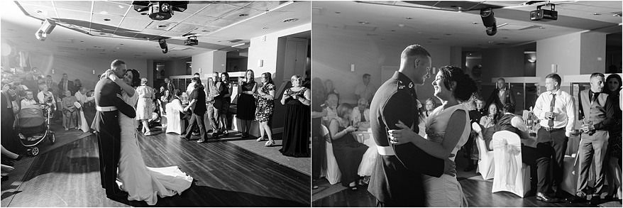 first dance photographs at the St Ives Harbour hotel wedding