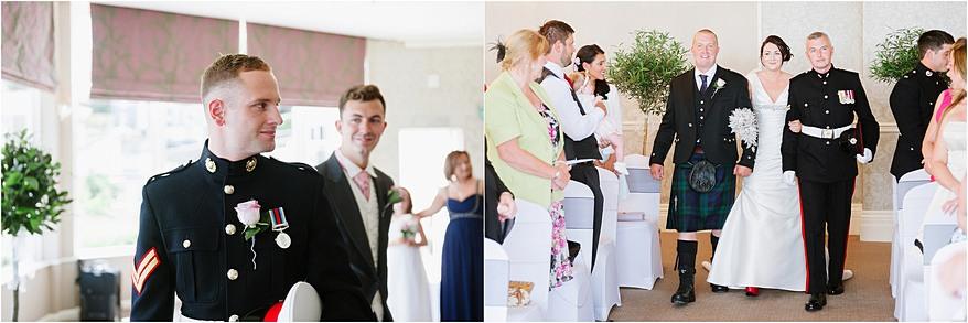 St Ives Harbour Hotel Wedding Ceremony
