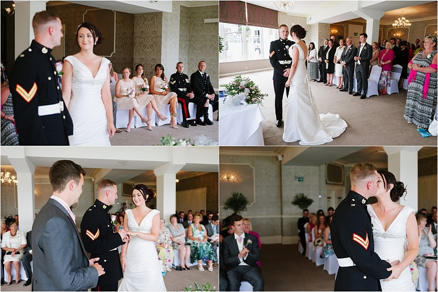 Beautiful St Ives Harbour Hotel Wedding Ceremony