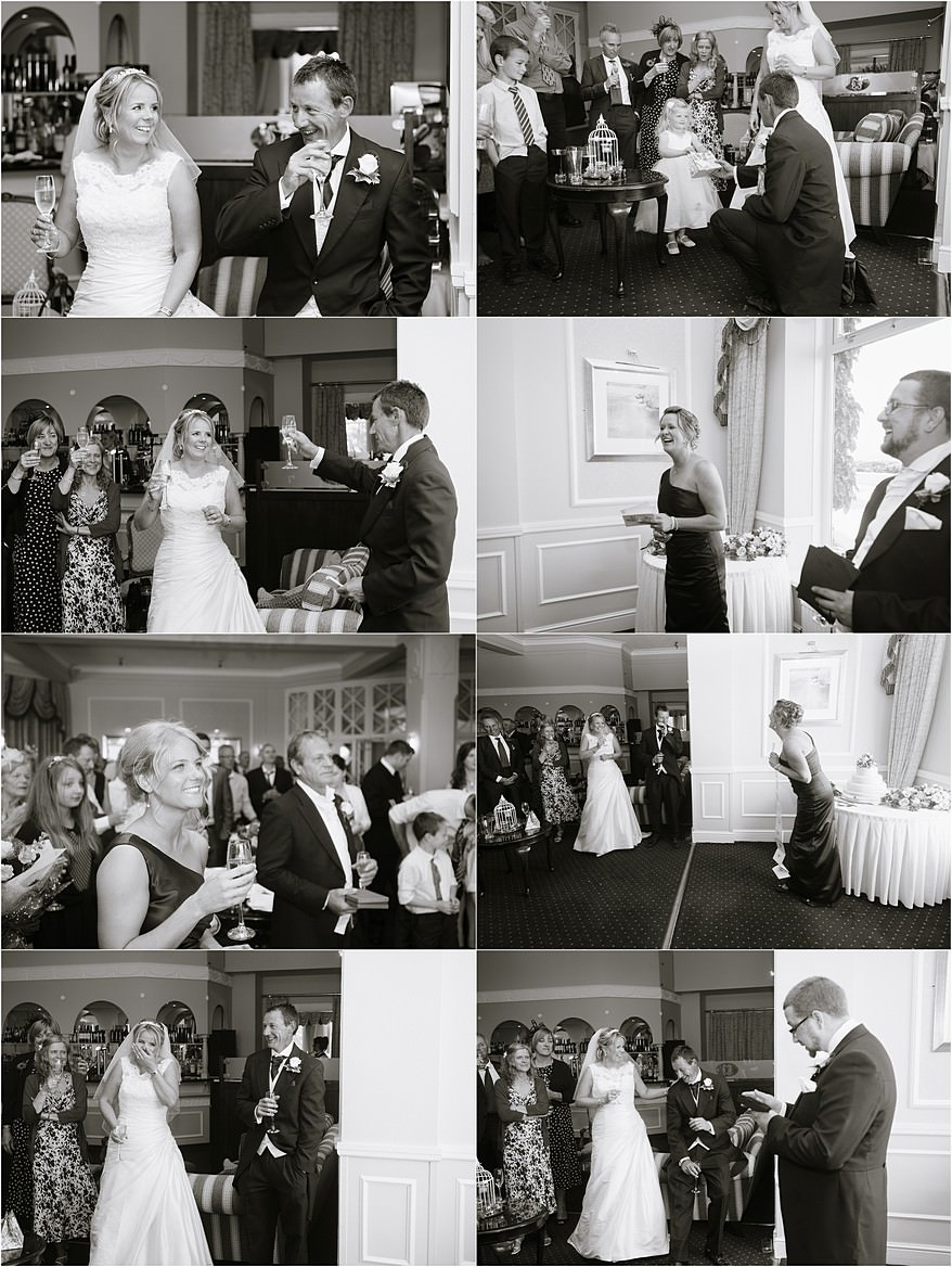 speeches for a wedding at Carlyon Bay Hotel