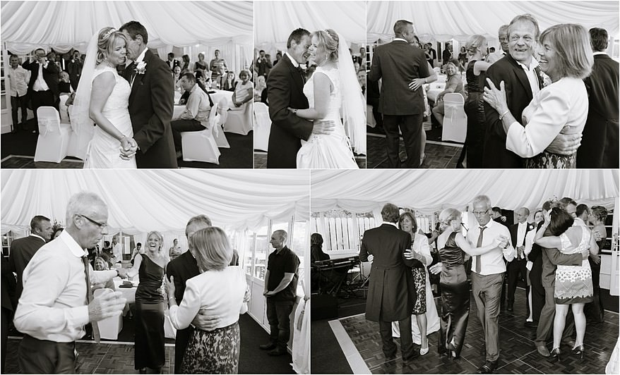 First dance photographs for a wedding at Carlyon Bay hotel