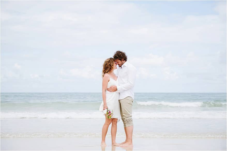 Carbis bay wedding beach wedding photographs