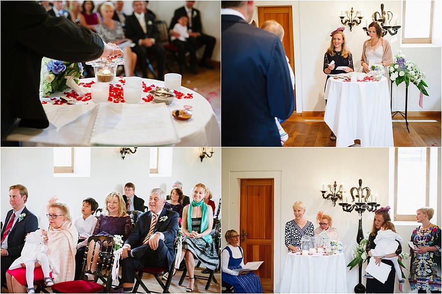 German traditions at a wedding ceremony in Zermatt