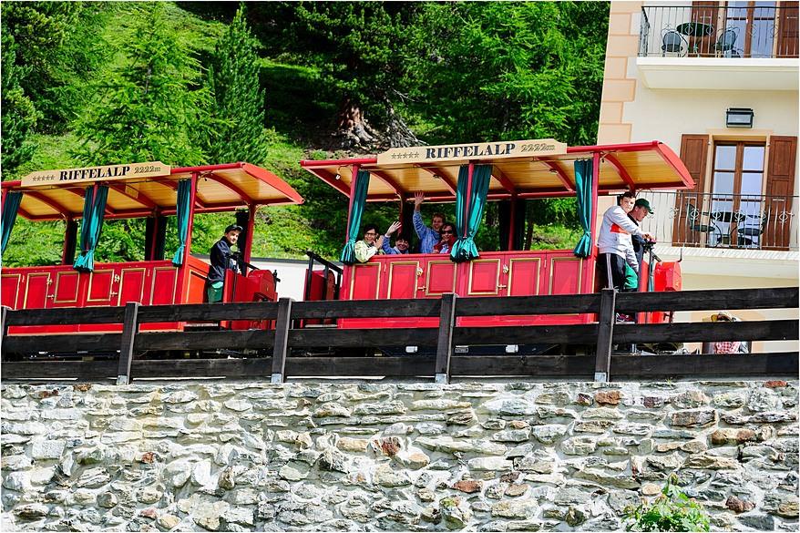 Riffelalp resort train