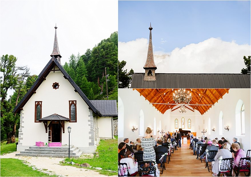 Wedding at the Riffelalp Church
