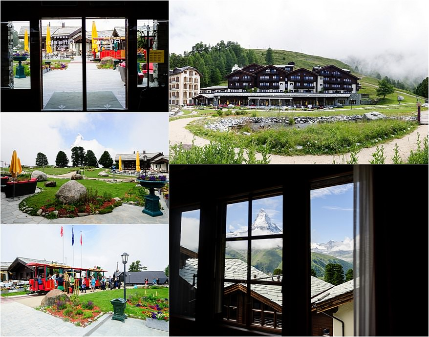 Wedding at the Riffelalp Resort 2222m