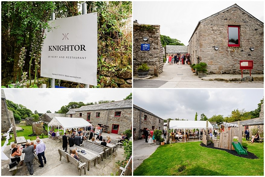 knightor winery wedding venue photographs