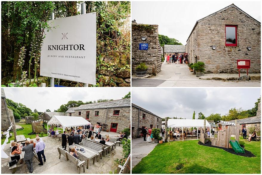 knightor winery wedding venue photographs