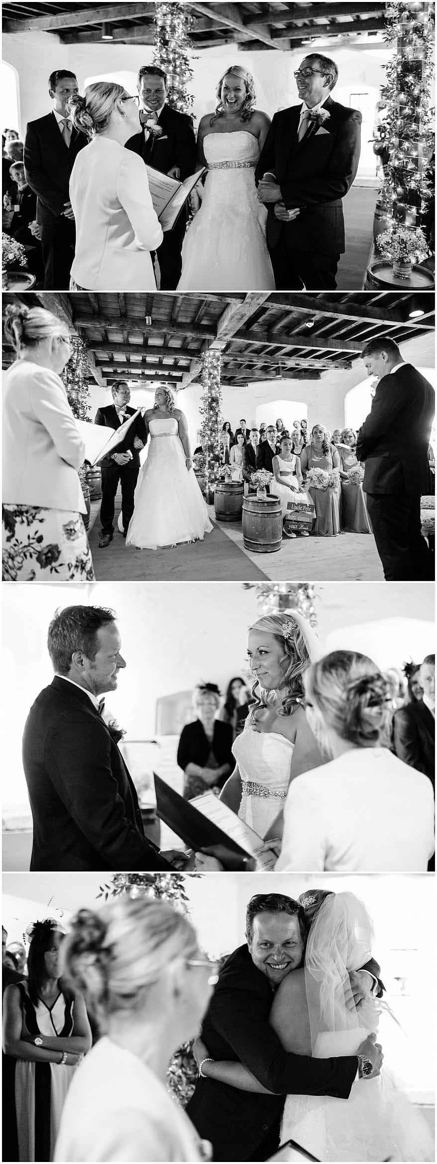 St Mawes Castle Wedding ceremony
