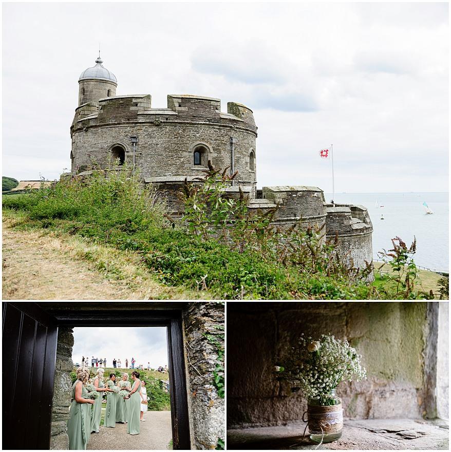 St Mawes Castle wedding venue