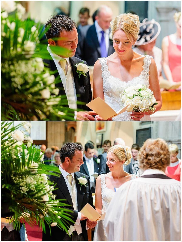 Wedding Ceremony at St Mewan Church