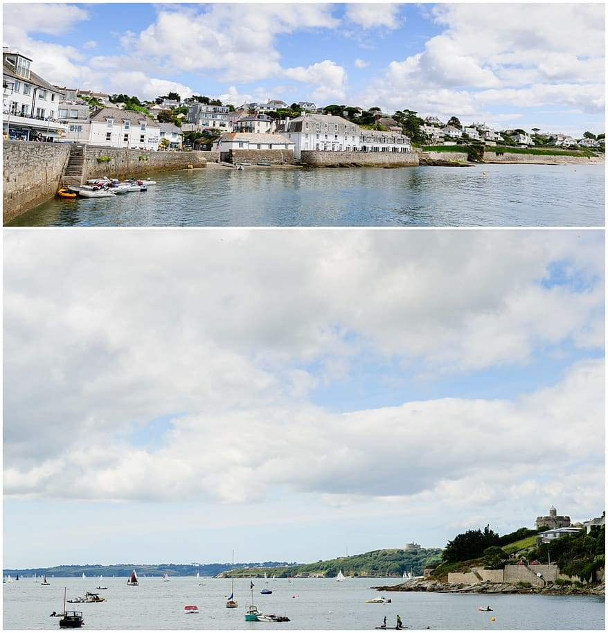Wedding at the Idle Rocks Hotel in St Mawes