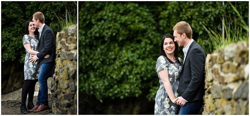 engagement shoot in Saltash
