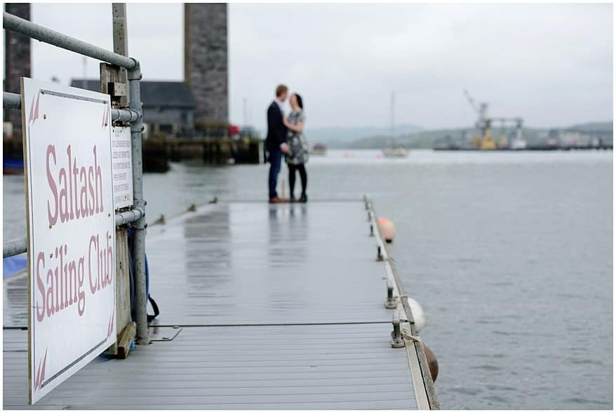 Saltash sailing club engagment shoot