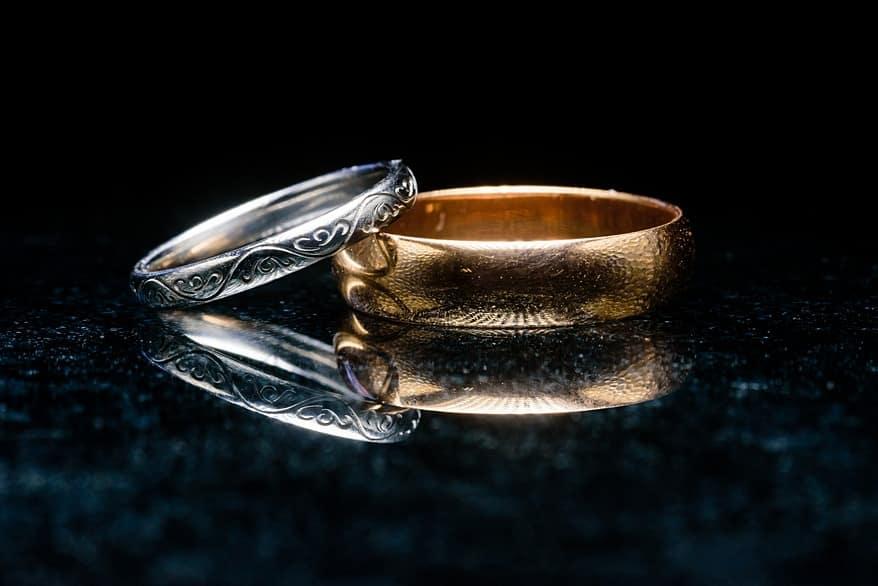 wedding ring tutorial using the Keppelling method