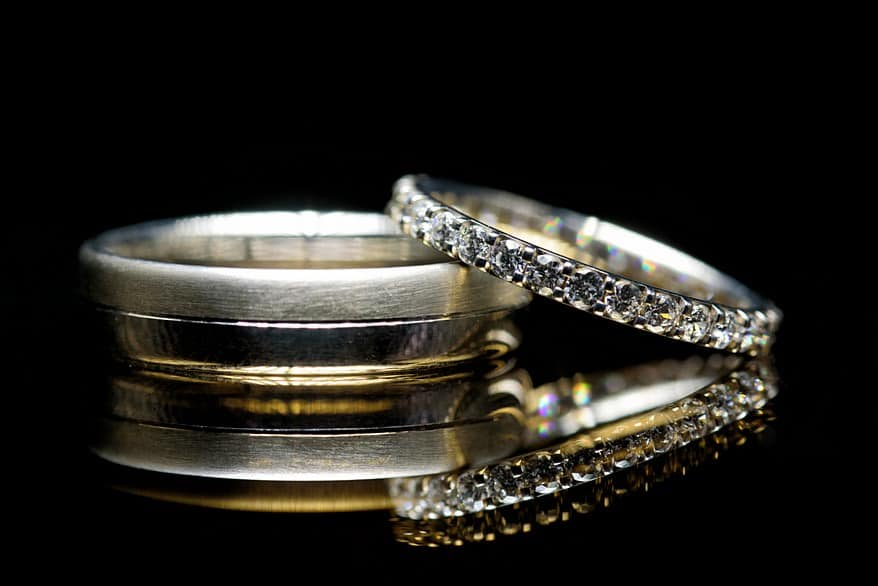 Keppelling wedding ring tutorial