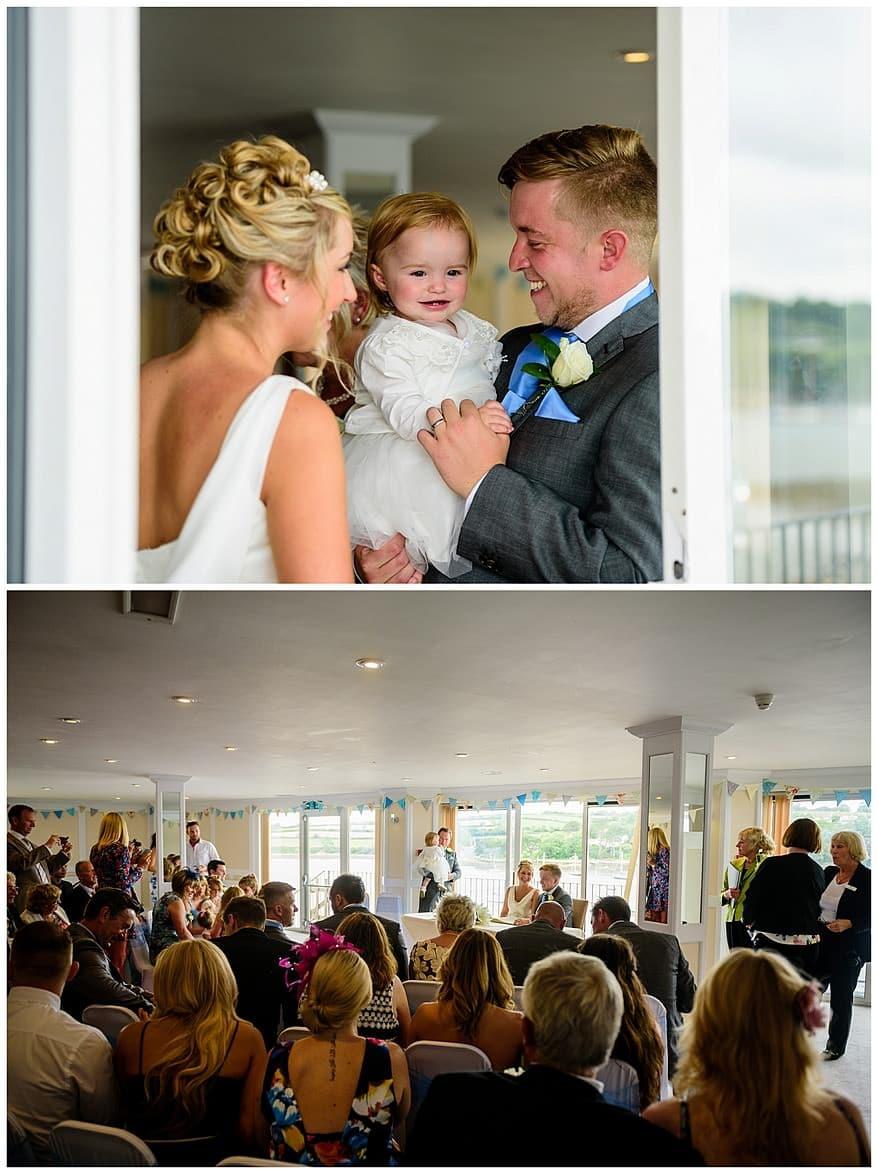 The Greenbank hotel wedding ceremony