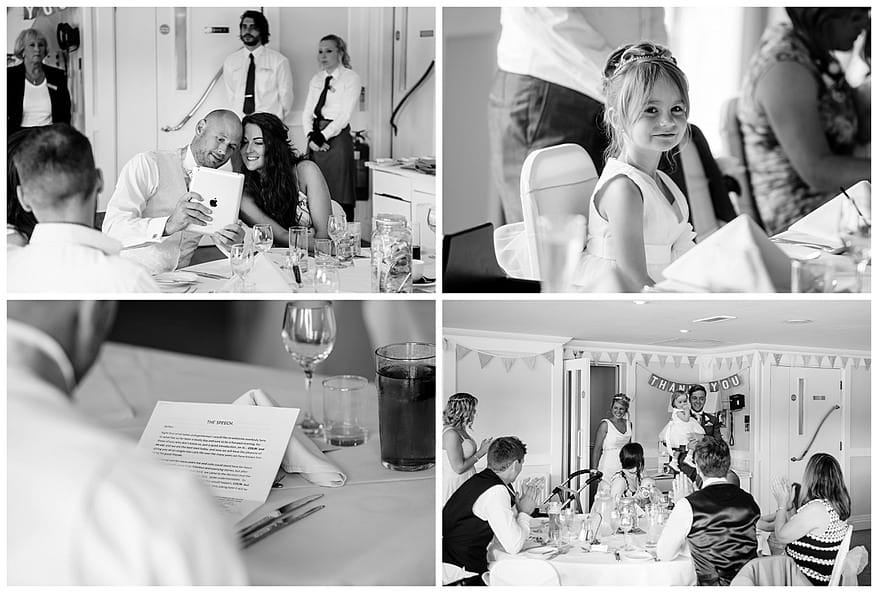 Toastmaster for a wedding the Greenbank Hotel