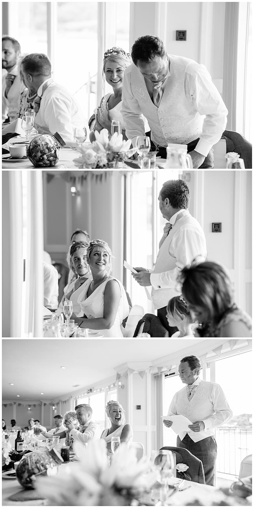father of the brides speech at the Greenbank Hotel