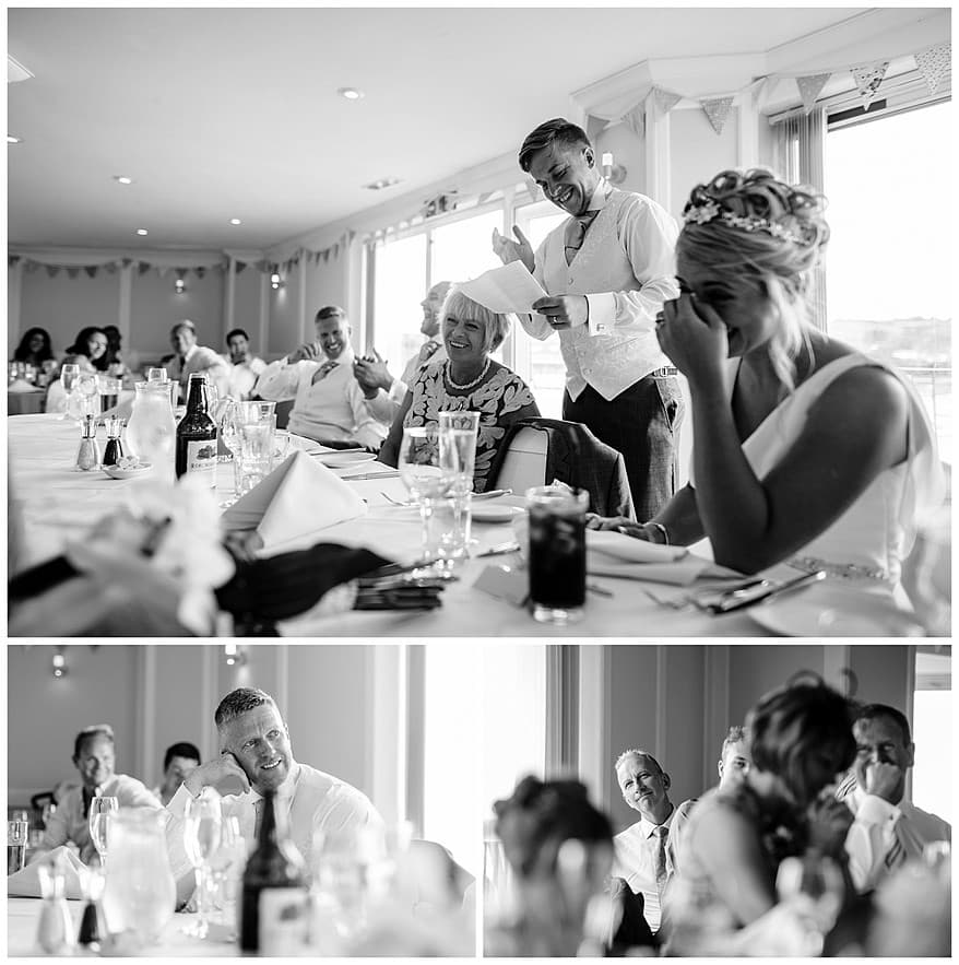 Grooms speech at the Greenbank Hotel
