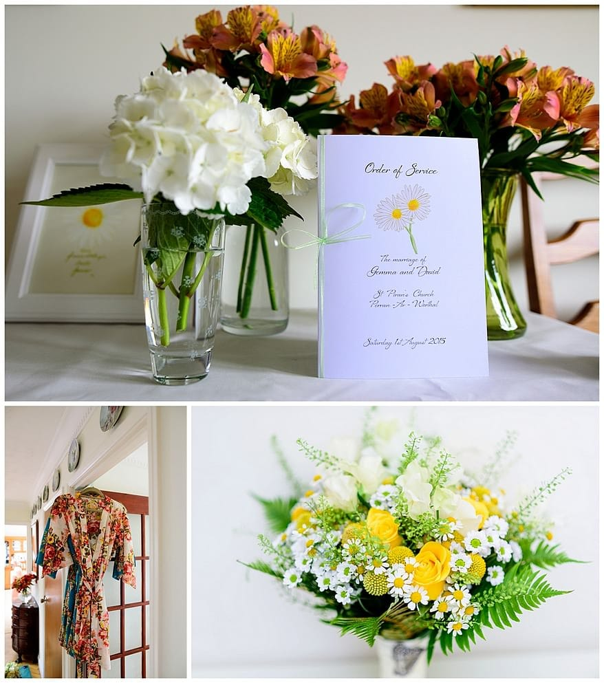 wedding flowers by Anna Sawle at Wedding flowers in Cornwall