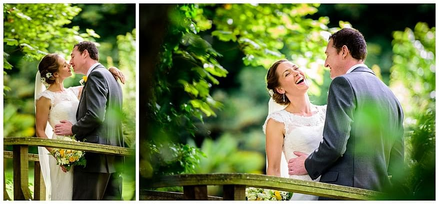 The rose in Vale hotel wedding photographs