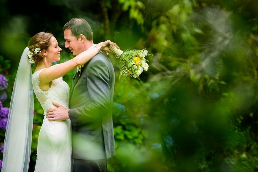 wedding at the Rose in Vale Country house hotel