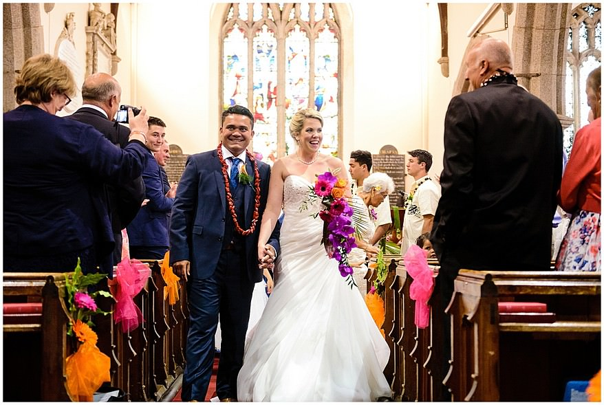 getting married at Illogan Church in Cornwall