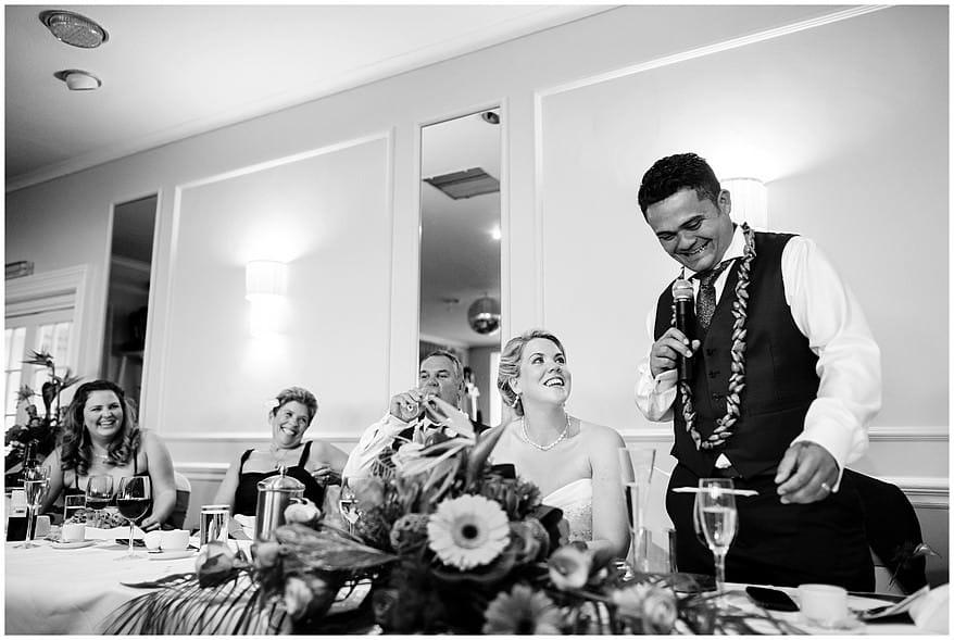 Samoan wedding speeches at the Merchants manor