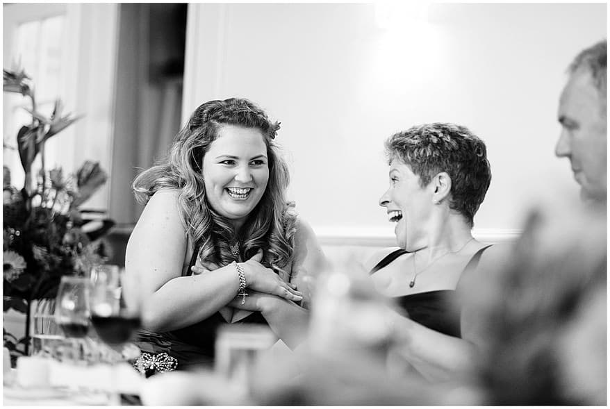 Candid wedding photographs at the merchants manor hotel
