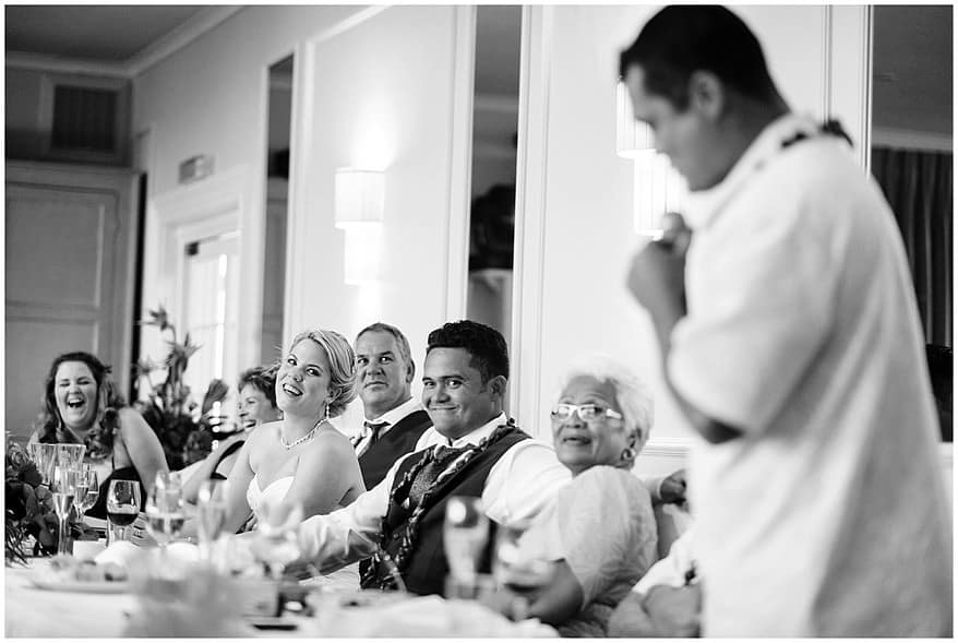 Funny wedding speeches at the merchants manor hotel in cornwall