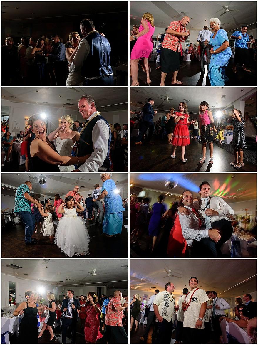 Samoan wedding dance