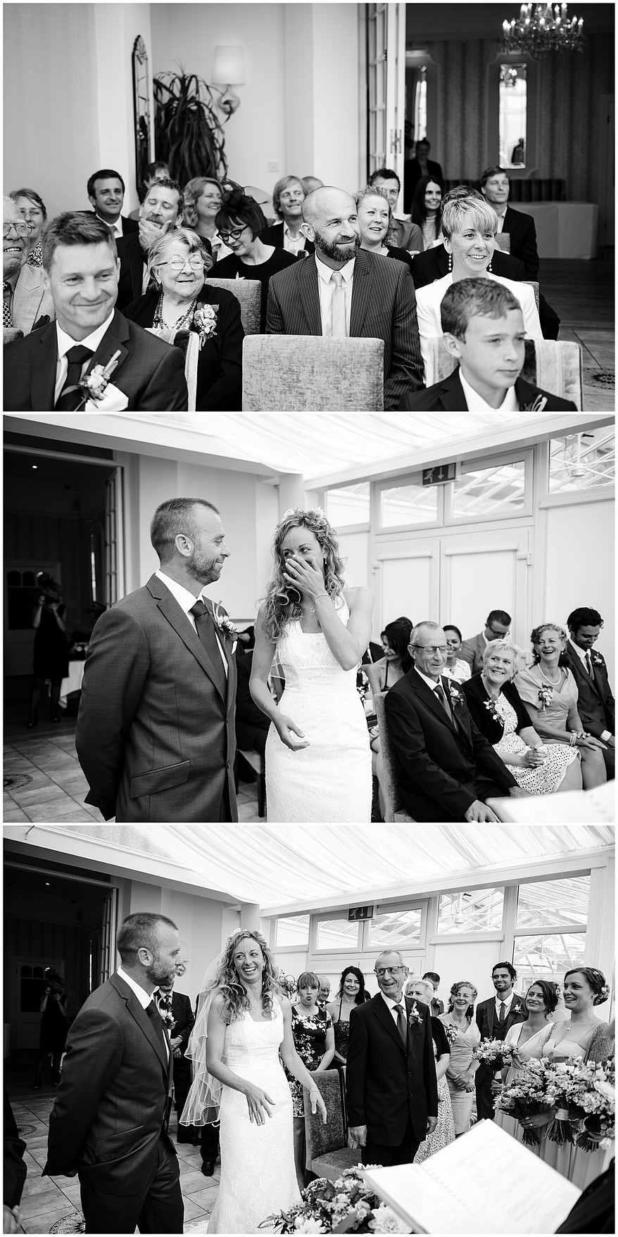 Beautiful wedding ceremony at the Carbis bay hotel