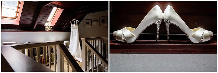 Wedding details at a Carbis bay hotel wedding