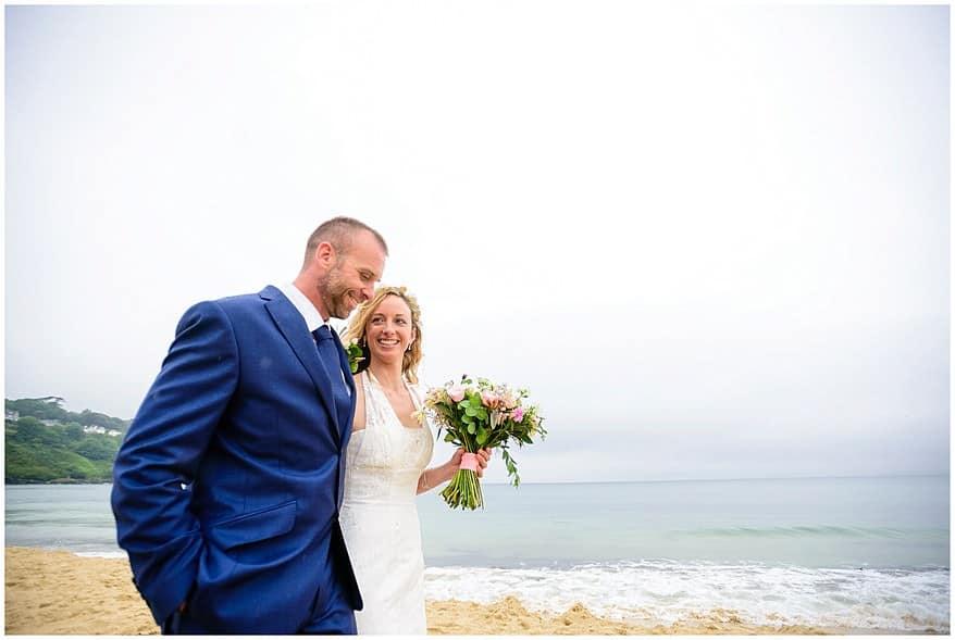 Carbis bay beach wedding