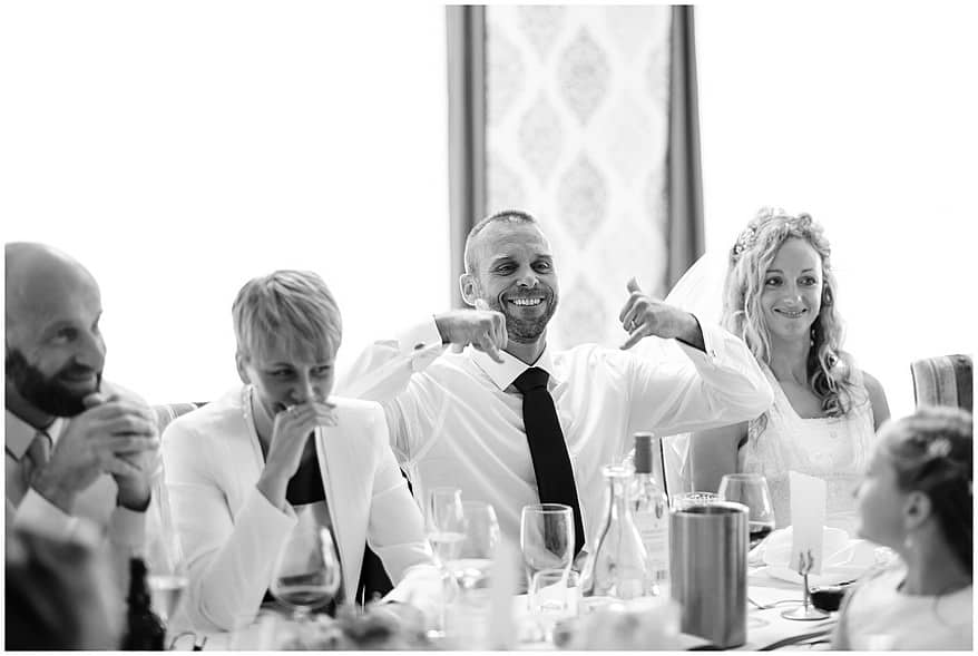funny wedding speeches at the carbis bay hotel