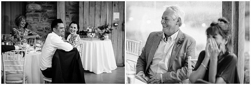 Trevenna barns wedding speeches