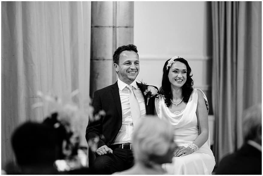 happy bride and groom at their wedding at the alverton hotel