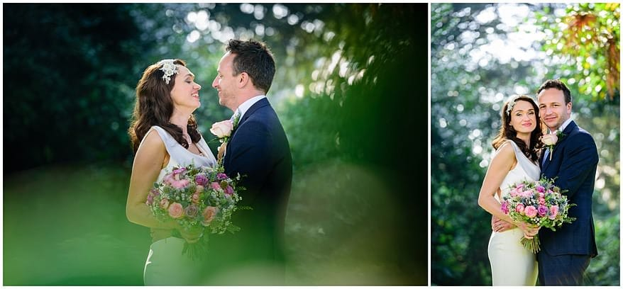 autumn wedding photographs at the alverton hotel