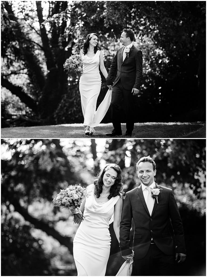 black and white photographs at the alverton hotel