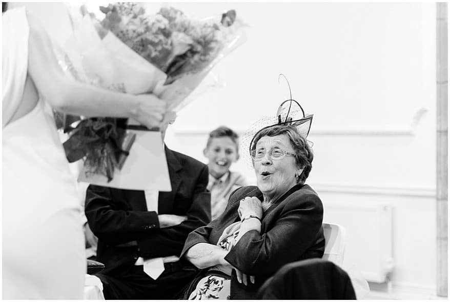 candid wedding speech photographs at the alverton hotel