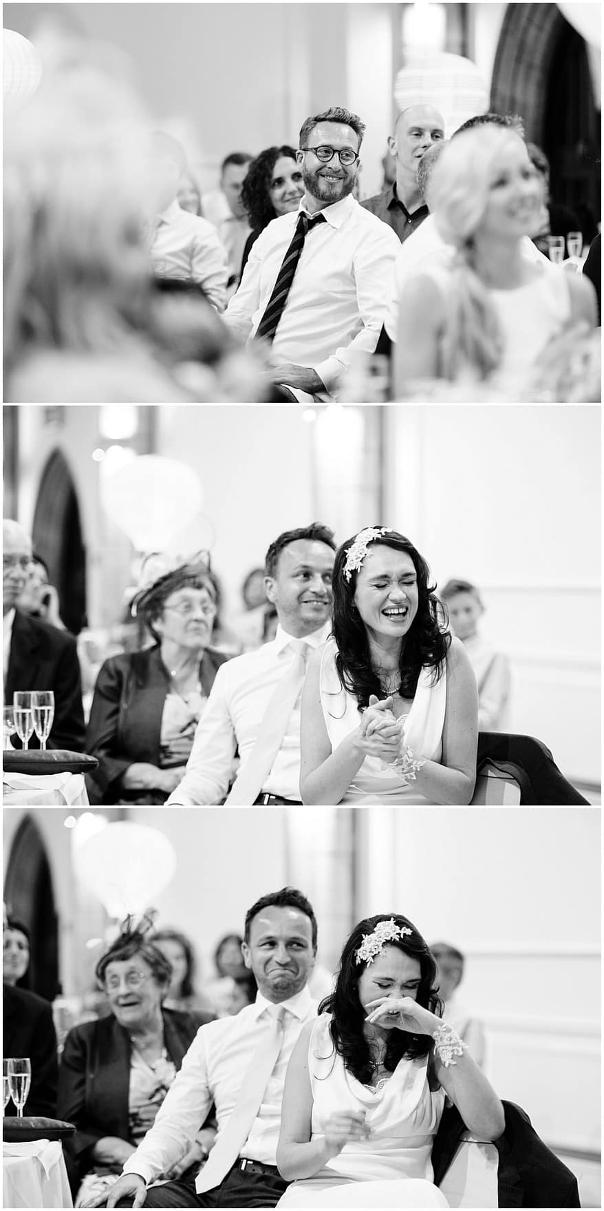 wedding speeches in the great hall at the alverton hotel