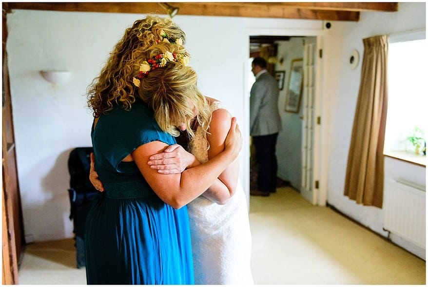 emotional times at a village fete themed wedding