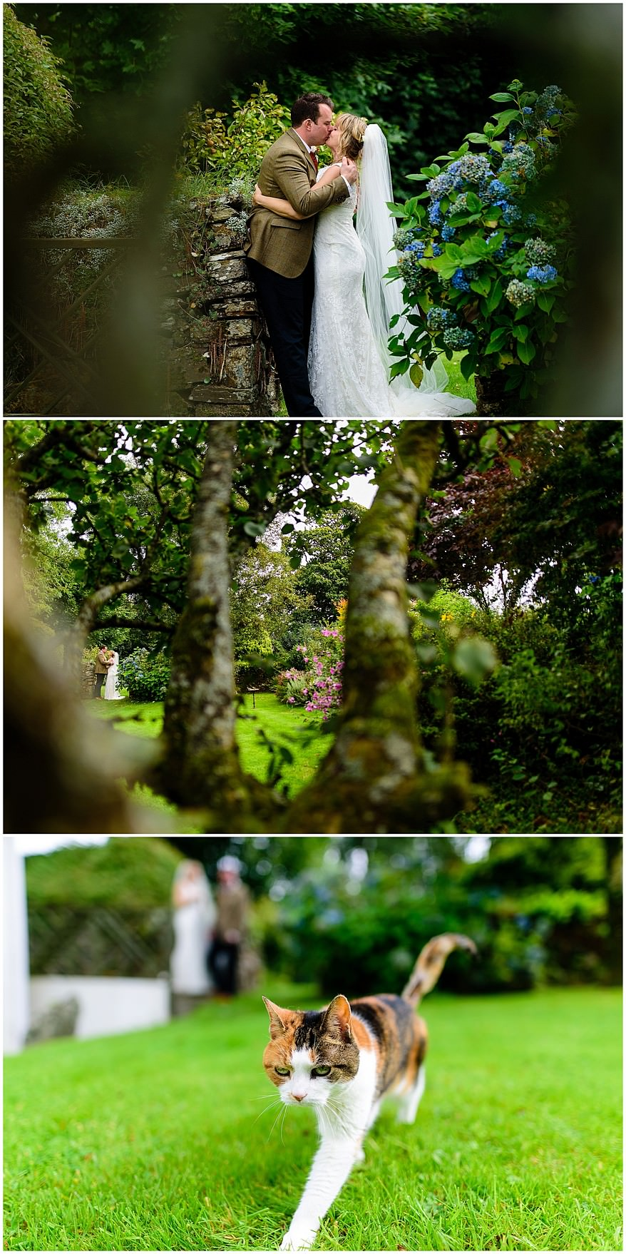 documentary wedding photography at a Coads green village hall wedding
